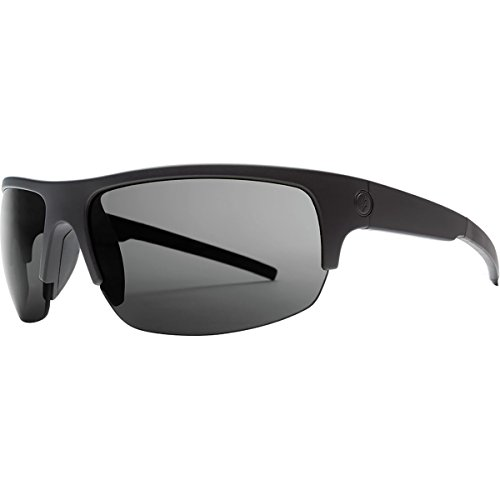 Electric Visual Tech One Pro Matte Black/OHM+Polarized Grey Sunglasses by Electric