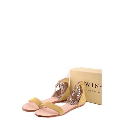 Jaune Chaussures Simona Twin Barbieri set wOBtqB7HIx