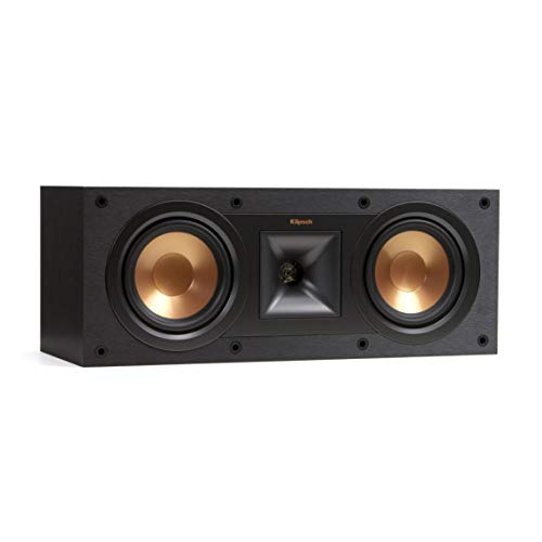 Klipsch R-14M 4-Inch Reference Bookshelf Speakers (Pair, Black)