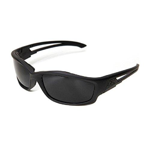 Edge Eyewear Blade Runner Glasses, Matte Black Frame with Gasket/G-15 Vapor Shield Lens