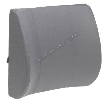 Orthopedic Wedge Lumbar Support Back Cushion Pillow Memory Foam & Synthetic (PU) Leather. This lumbar support is perfect for the office chair or the car By USA Cash and Carry ()