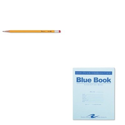 KITROA77513UNV55400 - Value Kit - Roaring Spring Exam Blue Book (ROA77513) and Universal Economy Woodcase Pencil (UNV55400) by Roaring Spring