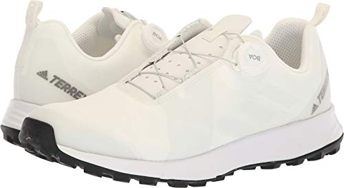 - adidas outdoor Terrex Two Boa Mens Trail Running Shoes, Non-Dyed/White/Black, 10.5