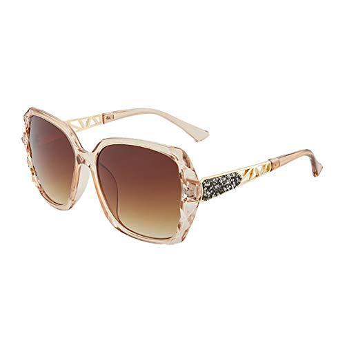 XBKPLO Women's Sunglasses Polarized Summer UV Protection Personality Glasses Fashion Vintage Party Sports UV400 Driving for Men Unisex