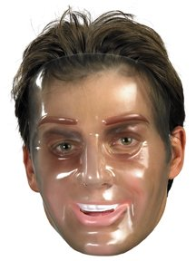 Transparent Halloween Mask (Disguise Costumes Transparent Man Mask,)