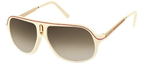 Carrera sunglasses Safari CIX-DB Acetate Beige - Silver Grey - Sunglasses Carrera Safari