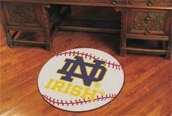 Notre Dame Baseball Rug - Notre Dame Baseball Rug