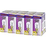 SupaLite 15w SES Clear Pygmy Lamp Light bulb - Boxed 10