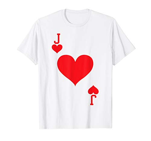 Jack of Hearts - Playing Card Halloween Costume -