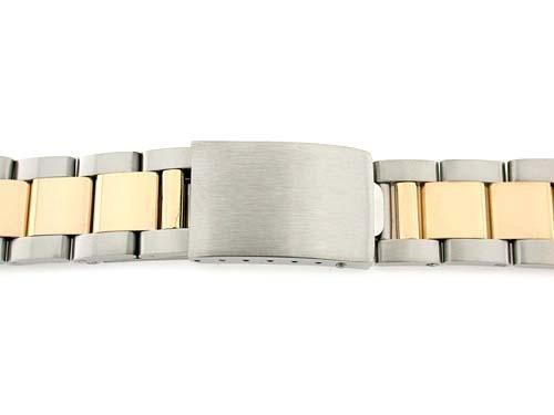 メンズ18 K / SS Two Tone Oyster Watch Band for Rolex 20 mm  B00A6WWO9W