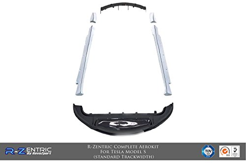 (R-Zentric Complete Aerokit For Tesla Model S (Stage 2) (CF))