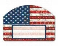 Yard Designs Address Magnet - Magnet Works MAIL76448 Pledge of Allegiance Yard DeSign