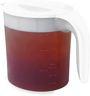 Mr. Coffee TP70 Tea Maker Replacement Pitcher for TM70, 3 quart, Clear/White