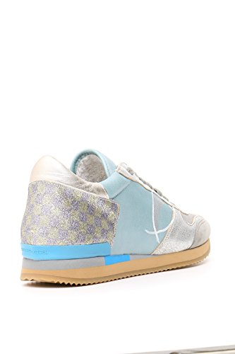 PHILIPPE MODEL FEMME MCBI238001O MULTICOLORE CUIR BASKETS