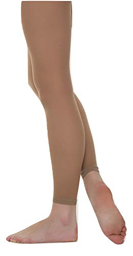 Grace Footless Dance Tights (Suntan, Child Small) ()