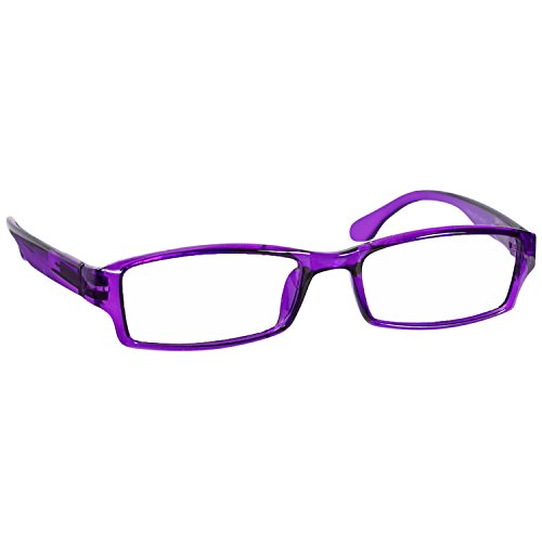 Purple Reading Glasses 6.00 Single (1 Pair) F501 TruVision Readers
