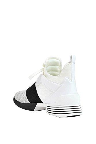 Kendall and Kylie Damen MCGLCAK03018E Weiss Synthetisch Fasern Hi Top Sneakers