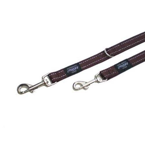 Rogz Utility Snake Brown multi-purpose dog leash 5,3 ft Medium