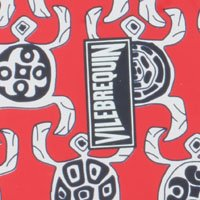 Vilebrequin Flip Flop - Rouge Coquelicot Pour Homme