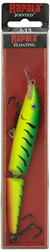 Rapala Jointed Lure, Size 13, 5 1/4