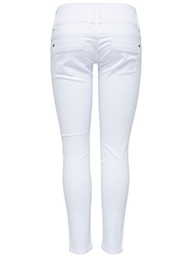 ONLY Damen Denim Jeans ANEMONE SOFT ANKLE PIM 907 white weiß / knöchellang exPCx65CU5