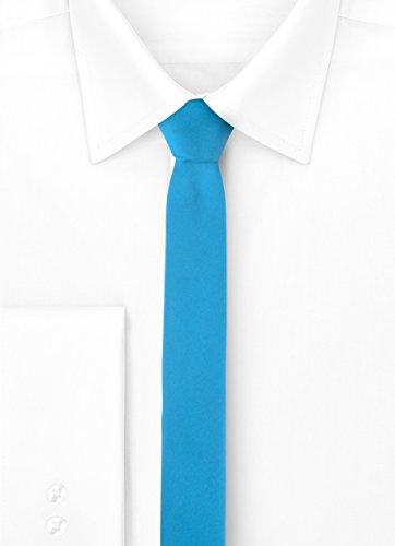 Blue 150cm Ladeheid 5cm SP Tie x 5 Mans Narrow 8qwTqA1