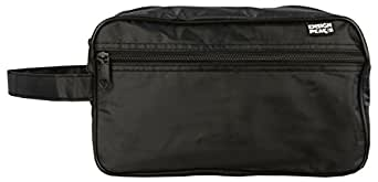 Ensign Peak Toiletry Travel / Shaving Bag, Black