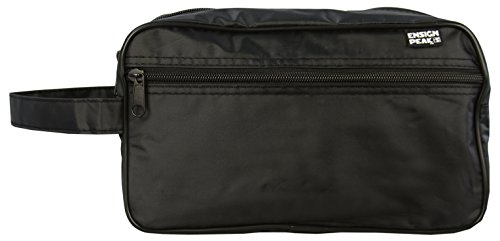 Essentials Bag - Ensign Peak Toiletry Travel / Shaving Bag, Black