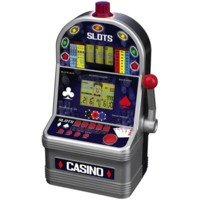 ULTIMATE CASINO Electronic 7 in 1, voice, includes blackjack, Texas hold 'em, baccarat, jackpot poker, draw poker, pirate sea slots and flag of champions slots