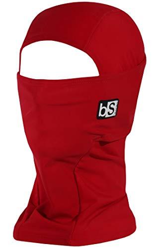 BLACKSTRAP Hood Balaclava Face Mask, Dual Layer Cold Weather Headwear for Men and Women, Crimson