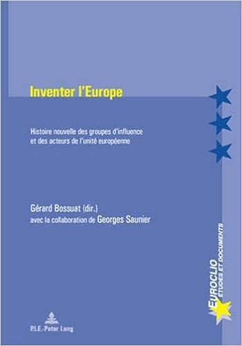 Inventer l'Europe: histoire