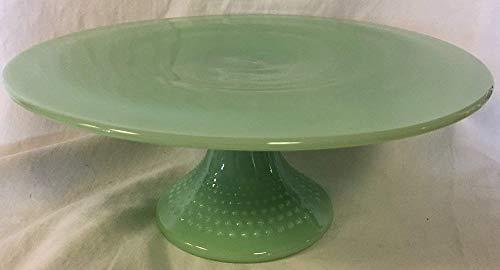 Cake Plate - Hobnail Pattern - Mosser Glass -