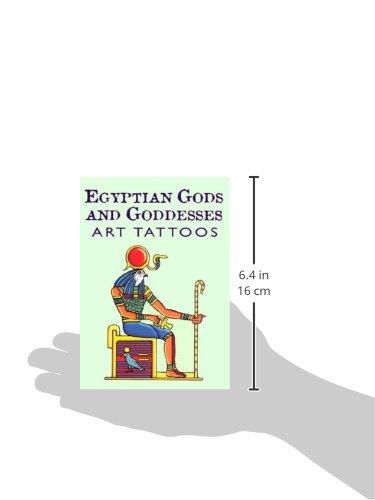 Egyptian Gods & Goddesses Art Tattoos (Dover Tattoos): Amazon.es ...