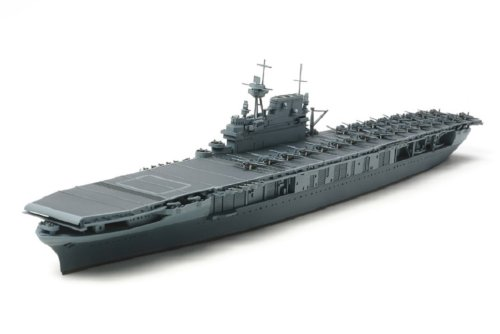Tamiya America, Inc 1/700 US Aircraft Carrier Yorktown CV-5, TAM31712 1 700 Scale Model Ships