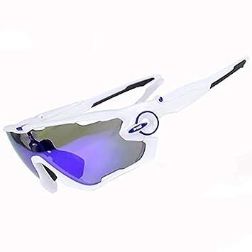 db3a265675 DAYANGE Polarized MTB Ciclismo Gafas 5 Lentes Ciclismo Gafas De Sol Gafas  De Deporte Hombres Mujeres Bicicleta De Montaña Ciclismo Gafas: Amazon.es:  ...