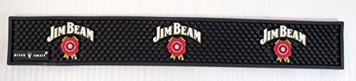 official-rare-jim-beam-black-with-white-letters-bar-mat-20-3-4l-x-3-1-2-w