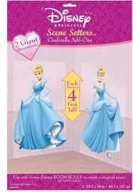 (Disney Princess 50 Inch Scene Setters Cinderella Add-ons)