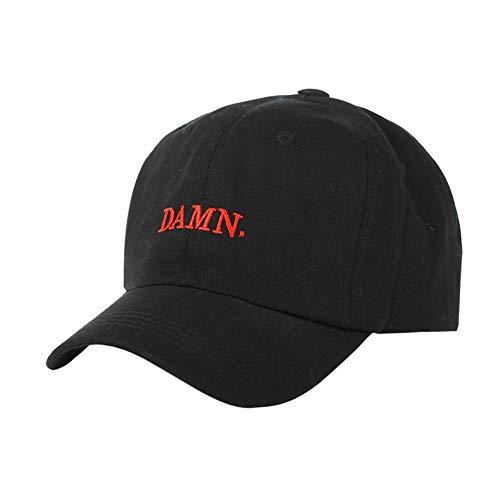 Etosell Baseball Cap Women Men Letter Cotton Hat Headwear Outdoor Sports Wear Black