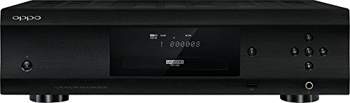 OPPO UDP-205 Region Free Ultra HD Audiophile Blu-ray Disc Player Can play Any DVD Region From 0123456789 or Any Blu Ray Zone from A,B,C on any TV. (Best Tv Speakers For The Money)