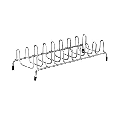 ClosetMaid 53482 Lid and Plate Organizer, Satin Chrome