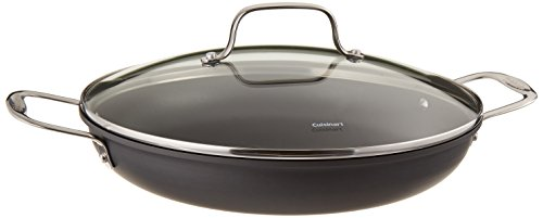 - Cuisinart 625-30D Chef's Classic Nonstick Hard-Anodized 12-Inch Everyday Pan with Medium Dome Cover
