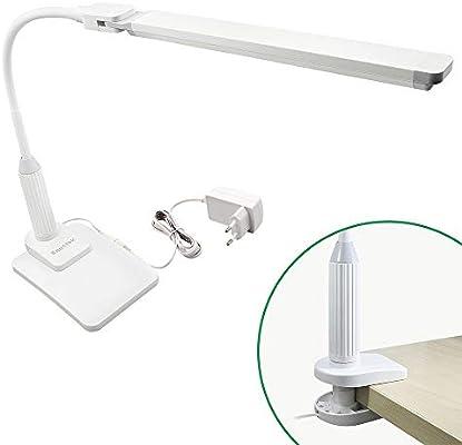 Design Schreibtischleuchte LED Dimmer /& 4 Lichtfarben Büro Schreibtischlampen