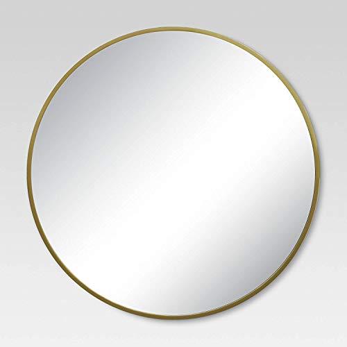 Round Decorative Wall Mirror Brass - Project 62