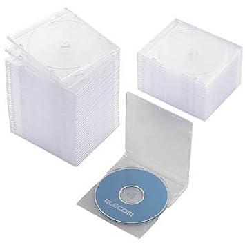 Elecom Slim CD/Caja para DVD CCD-017LCR (importación de Japón ...