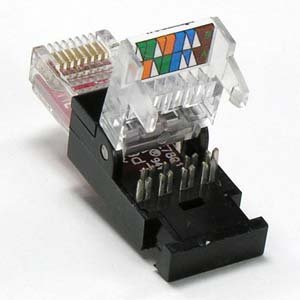 installerparts rj45 cat 6 utp toolless plug. Black Bedroom Furniture Sets. Home Design Ideas