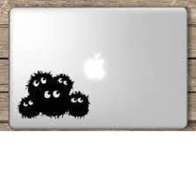 Totoro-Susuwatari-Dust-Bunnies-Sticker-Decal-Ghibli-Laputa-Jdm-Anime-Car-Window-Wall-Macbook-Notebook-Laptop-Sticker-Decal