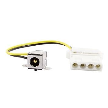 eDealMax Centro 5,5 mm x 2,5 mm Pin PJ207 DC de conector