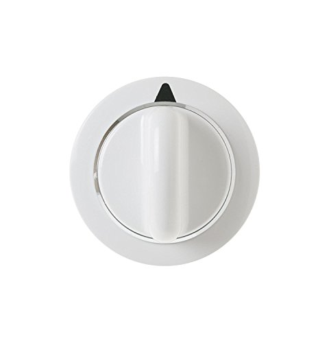 Dryer Timer Knob Assembly Part For GE Hotpoint WE1M654 White D-Shaft Replacement