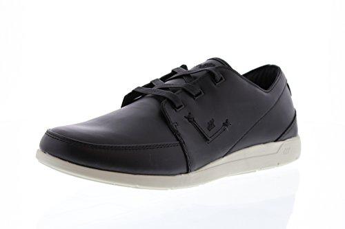 Boxfresh - zapatos con cordones Hombre Negro - negro