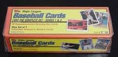 1995 Topps Baseball Factory Set Orange Box